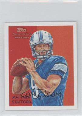 2009 Topps National Chicle Mini National Chicle Back #C37 - Matthew Stafford
