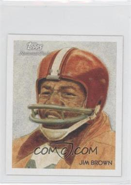 2009 Topps National Chicle Mini National Chicle Back #C79 - Jim Brown