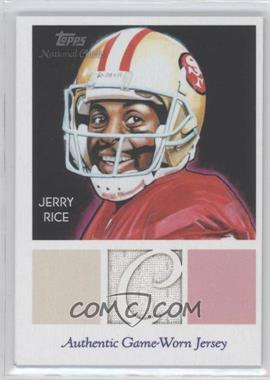 2009 Topps National Chicle Relics #NCR-JR - Jerry Rice