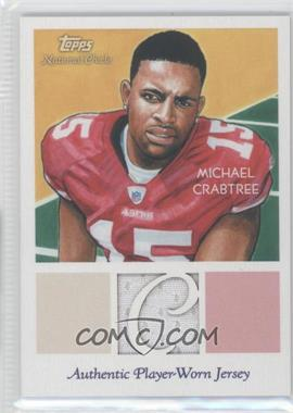 2009 Topps National Chicle Relics #NCR-MC - Michael Crabtree