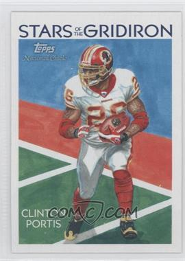 2009 Topps National Chicle Stars of the Gridiron #SG-7 - Clinton Portis