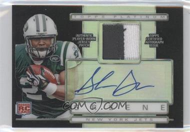 2009 Topps Platinum - Autographed Refractor Patch - Black #ARP-SG - Shonn Greene /25