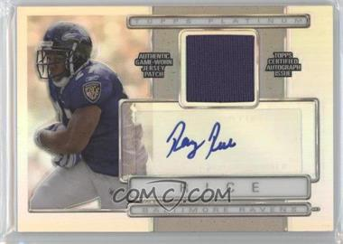 2009 Topps Platinum Autographed Refractor Patch #ARP-RR - Ray Rice /350