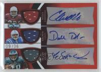 Chris Wells, Donald Brown /36