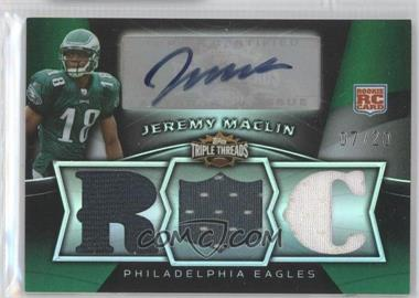 2009 Topps Triple Threads Emerald #114 - Jeremy Maclin /20