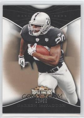 2009 Topps Triple Threads Gold #54 - Darren McFadden /99