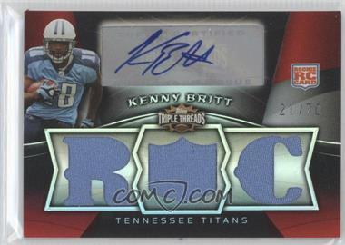 2009 Topps Triple Threads #118 - Kenny Britt /70