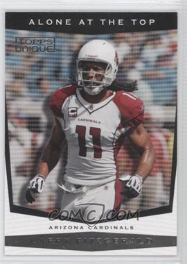 2009 Topps Unique - Alone at the Top #AT6 - Larry Fitzgerald