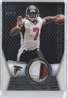 2009 Topps Unique - Prime Time Patches #PTP-149 - Michael Vick /50