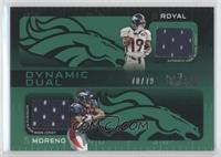 Eddie Royal, Knowshon Moreno /79