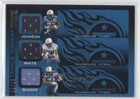 Chris Johnson, LenDale White, Javon Ringer /25
