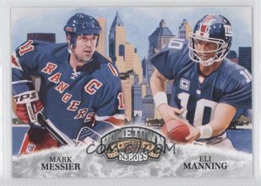 2009 UD Football Heroes #484 - Max Messner, Eli Manning