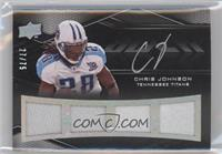 Chris Johnson #27/75