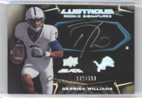 Derrick Williams /399