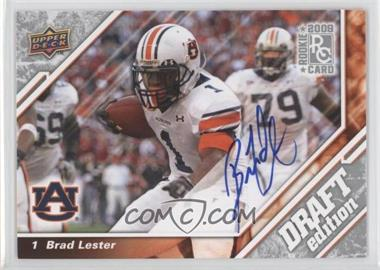 2009 Upper Deck Draft Edition - [Base] - Autographs [Autographed] #131 - Brad Lester