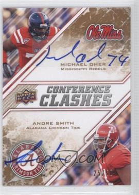 2009 Upper Deck Draft Edition - [Base] - Copper Autographs [Autographed] #262 - Andre Smith, Michael Oher /50