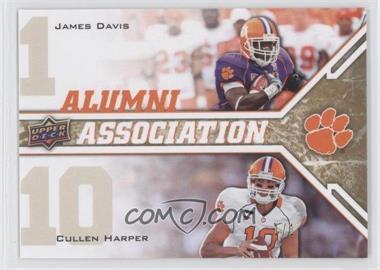 2009 Upper Deck Draft Edition - [Base] - Gold #237 - James Davis, Cullen Harper /1
