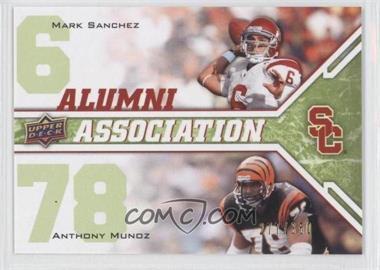 2009 Upper Deck Draft Edition - [Base] - Green #243 - Anthony Munoz, Mark Sanchez /350