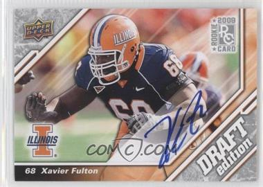 2009 Upper Deck Draft Edition Autographs [Autographed] #108 - [Missing]
