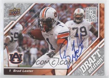 2009 Upper Deck Draft Edition Autographs [Autographed] #131 - Brad Lester