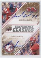 Andre Smith, Michael Oher /50