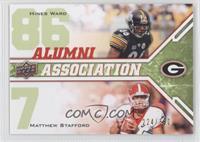 Hines Ward, Matthew Stafford /350