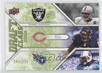Darren McFadden, Chris Johnson, Matt Forte' /350