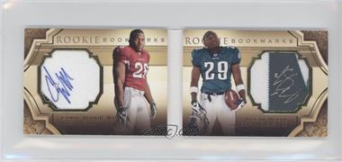 2009 Upper Deck Exquisite Collection - Rookie Bookmarks #BM-WM - LeSean McCoy, Chris Wells /99