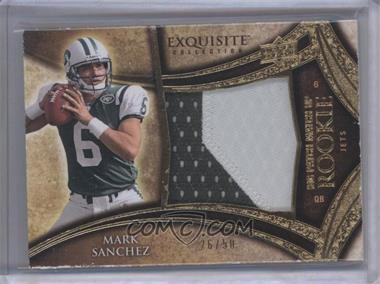 2009 Upper Deck Exquisite Collection Big Patch Match Up Rookies #MSSG - Mark Sanchez, Shonn Greene /50