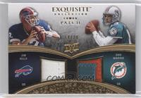 Dan Marino, Jim Kelly /20