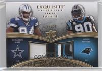 DeMarcus Ware, Julius Peppers /20