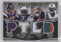 Ronnie Brown, Marshawn Lynch, LaDainian Tomlinson, Adrian Peterson /20
