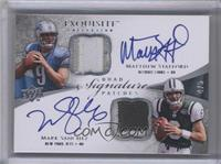 Josh Freeman, Matthew Stafford, Mark Sanchez, Rhett Bomar /5