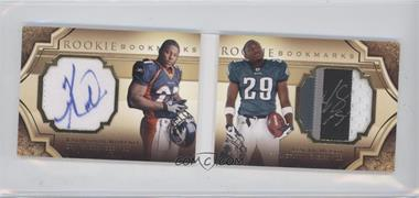 2009 Upper Deck Exquisite Collection Rookie Bookmarks #BM-MM - Knowshon Moreno, LeSean McCoy /99