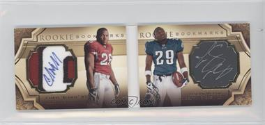 2009 Upper Deck Exquisite Collection Rookie Bookmarks #BM-WM - Chris Wells, LeSean McCoy /99