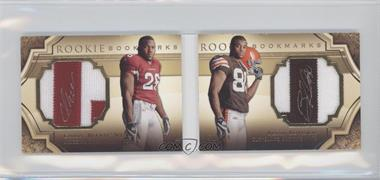 2009 Upper Deck Exquisite Collection Rookie Bookmarks #BM-WR - Chris Wells /99