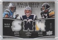 Hines Ward, Wes Welker, Steve Smith /25
