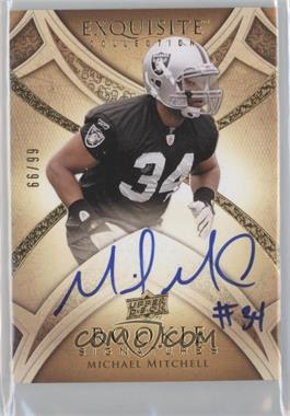 2009 Upper Deck Exquisite Collection #140 - Mike Mitchell /99