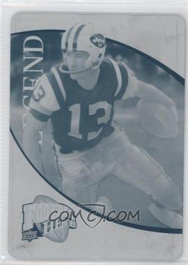 2009 Upper Deck Football Heroes - [Base] - Printing Plate Cyan #225 - Don Maynard /1