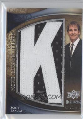 2009 Upper Deck Icons - Movie Icons Lettermen #ML-SB - Scott Bakula /25