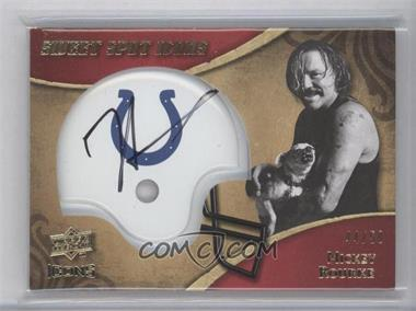 2009 Upper Deck Icons - Sweet Spot Icons #SSI-RK - Mickey Rourke /50