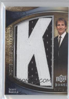 2009 Upper Deck Icons Movie Icons Lettermen #ML-SB - Scott Bakula /25