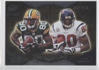 Donald Driver, Andre Johnson /450