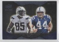 Antonio Gates, Dallas Clark /450