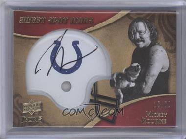 2009 Upper Deck Icons Sweet Spot Icons #SSI-RK - Mickey Rourke /50