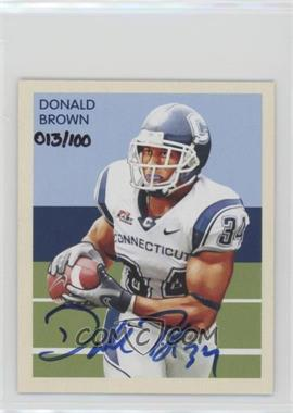2009 Upper Deck Philadelphia - 1935 National Chicle - Autographs [Autographed] #NC92 - Donald Brown