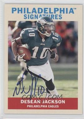 2009 Upper Deck Philadelphia Signatures #PS-DJ - DeSean Jackson