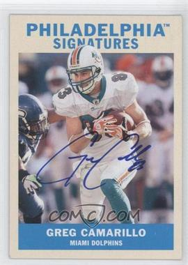 2009 Upper Deck Philadelphia Signatures #PS-GC - Greg Camarillo