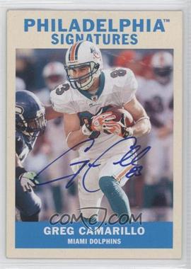 2009 Upper Deck Philadelphia Signatures #PS-GC - Greg Camarillo