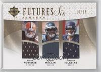 Juaquin Iglesias, Mike Wallace, Patrick Turner /25